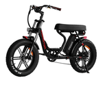 Addmotor Electric Bikes One Size / Black Addmotor MOTAN Electric M-66 R7 Step Thru Fat Tire