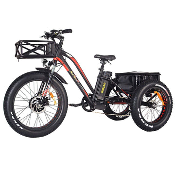 Addmotor MOTAN M-350 P7 750W 14.5 AH Electric Fat Tire Trike