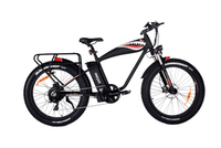 "Addmotor Electric Bikes One Size / Black Addmotor MOTAN M-5500 Flying Tiger 26"" Hunting Electric Bicycle 1000W 48V Battery"