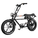 Addmotor Electric Bikes One Size / Black Addmotor MOTAN Retro Electric Fat Tire Beach Cruiser Bicycle 750W M-70 R7