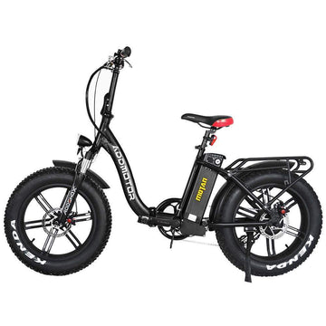 "Addmotor MOTAN M-140 R7 750W Step Thru 20"" Fat Tire Folding Electric Bicycle"