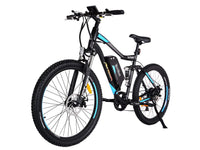 Addmotor Electric Bikes One Size / Blue Addmotor HITHOT Electric Mountain Bicycle 500W 27.5 Inch E-Bike H-1