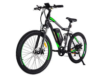 Addmotor Electric Bikes One Size / Green Addmotor HITHOT Electric Mountain Bicycle 500W 27.5 Inch E-Bike H-1