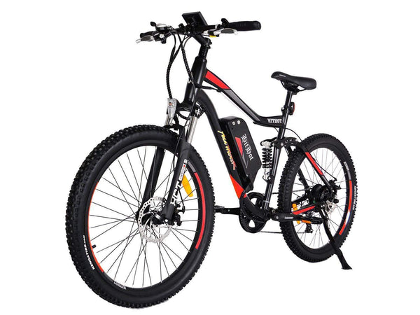 Addmotor Electric Bikes One Size / Orange Addmotor HITHOT Electric Mountain Bicycle 500W 27.5 Inch E-Bike H-1