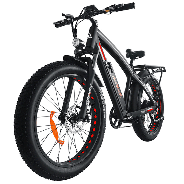 Addmotor Electric Bikes One Size / Red Addmotor MOTAN Electric Fat Tire Mountain Bike 750W 11.6 AH 26 Inch M-560 P7