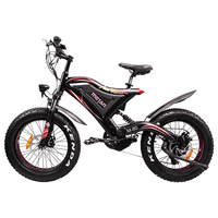 Addmotor Electric Bikes One Size / Red Addmotor MOTAN Fat Tire E-Bike 500W 48V 11.6 AH 20 Inch M-80