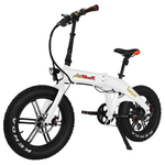 Addmotor Electric Bikes One Size / White Addmotor MOTAN Electric Bicycle 750W Folding 20 Inch Fat Tire E-Bike M-160 R7