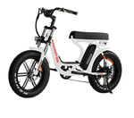 Addmotor Electric Bikes One Size / White Addmotor MOTAN Electric M-66 R7 Step Thru Fat Tire