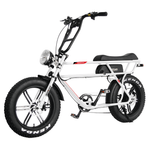 Addmotor Electric Bikes One Size / White Addmotor MOTAN Retro Electric Fat Tire Beach Cruiser Bicycle 750W M-70 R7