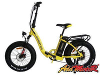 Addmotor Electric Bikes One Size / Yellow Addmotor MOTAN Step Thru 20 Inch Fat Tire Folding Electric Bicycle 500W M-140