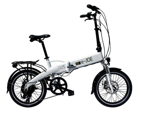 "E-JOE Electric Bikes 20"" / Frosty White e-JOE EPIK SE 48V 500W Electric Folding Bike"