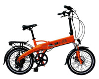 "E-JOE Electric Bikes 20"" / Tangerine e-JOE EPIK SE 48V 500W Electric Folding Bike"