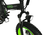 EcoMotion Electric Bikes Mini Pro Electric Folding Fat Bike
