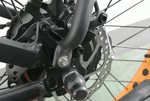 "Ecotric Accessories Black Rear Rack and Fenders - For Ecotric 26"" Fat Tire eBike / Ecotric Rocket eBike"