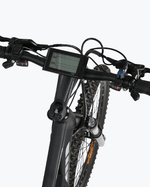 "Ecotric Electric Bikes 26"" / Black Ecotric Tornado Full Suspension Electric Mountain Bike 48V 750W"