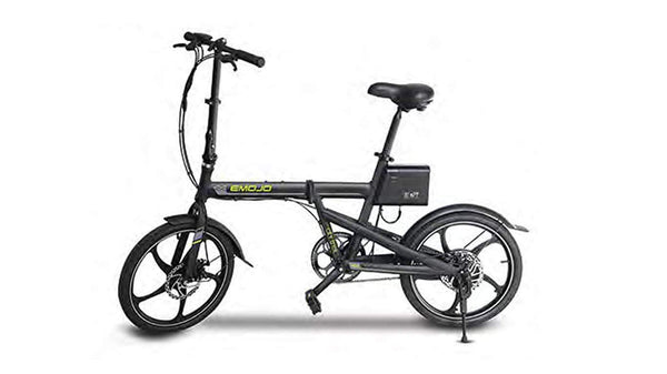 Emojo Electric Bikes One Size / Black Emojo City Trek 36V 300W Folding eBike