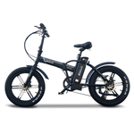 Emojo Electric Bikes One Size / Black Emojo Lynx Pro Sport 48V 500W Fat Tire Folding eBike