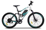 Emojo Electric Bikes One Size / White Cougar 48V 500W Mountain eBike