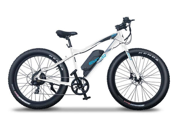Emojo Electric Bikes One Size / White Emojo Wildcat PRO HD 48V 750W Fat Tire Electric Bike