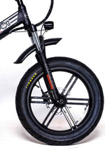 GreenBike Electric Motion Electric Bikes GreenBike Big Dog Off-Road 48V 750W Electric Folding Bike