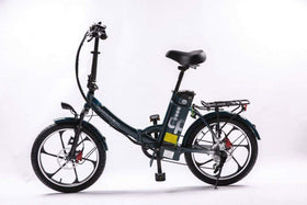 GreenBike City Premium HD Mini Fat Tire Folding Electric Bike