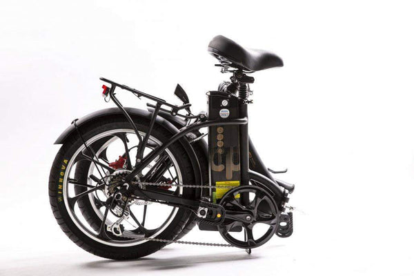 GreenBike Electric Motion Electric Bikes GreenBike City Premium HD Mini Fat Tire Folding Electric Bike