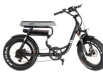 GreenBike Mule 500W 48V 12.8 Ah 2-Seater Electric Fat Tire Bike