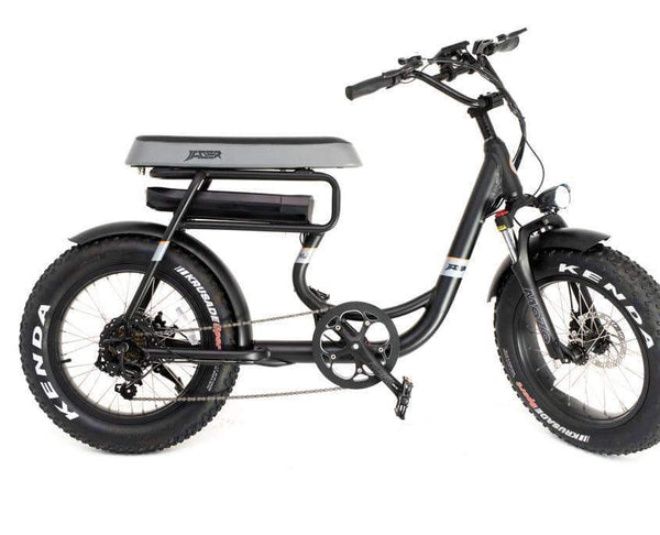 GreenBike Electric Motion Electric Bikes One Size / Black GreenBike Mule 500W 48V 12.8 Ah 2-Seater Electric Fat Tire Bike