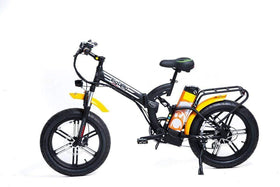 GreenBike Big Dog Off-Road 48V 750W Fat Tire Electric Folding Bike