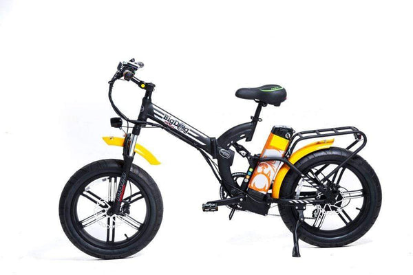 GreenBike Electric Motion Electric Bikes One Size / Black Orange GreenBike Big Dog Off-Road 48V 750W Electric Folding Bike