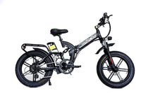 GreenBike Electric Motion Electric Bikes One Size / Black Silver GreenBike Big Dog Off-Road 48V 750W Electric Folding Bike