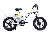 GreenBike Electric Motion Electric Bikes One Size / White GreenBike Big Dog Off-Road 48V 750W Electric Folding Bike