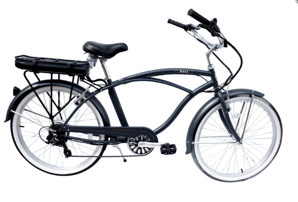 "Micargi Electric Bikes 26"" / Dark Gray Micargi Bali Mens 48V 350W Step Through Electric Bike"