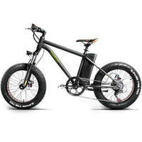 "Nakto Electric Bikes 20"" / Black Nakto Fat Tire 36V E-Bike 20"" Mini Cruiser"
