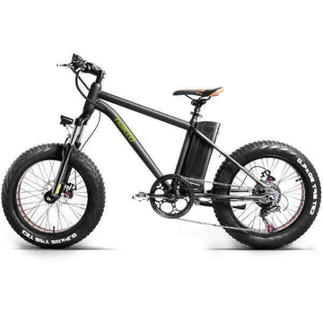 "Nakto Mini Cruiser 36V 20"" Fat Tire Electric Bike"