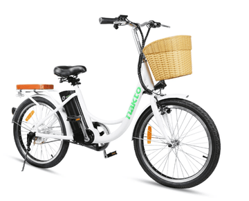 "Nakto Elegance 36V 22"" Step Thru Electric City Bicycle"