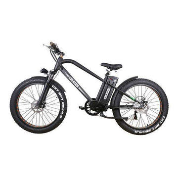 "Nakto Super Cruiser 26"" 500W 48V 12ah Fat Tire Electric Bicycle"