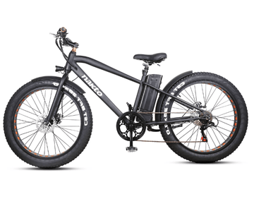 "Nakto Cruiser 36V 26"" Fat Tire Electric Bicycle"