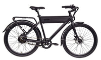 "Ride1Up Electric Bikes 26"" / Black Ride1Up Roadster Ghost 48V City Electric Bicycle 26"""