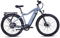 "Ride1Up Electric Bikes 27.5"" / Blue Steel Ride1Up 700 Series 48V Electric Cruiser City Bicycle - XR"