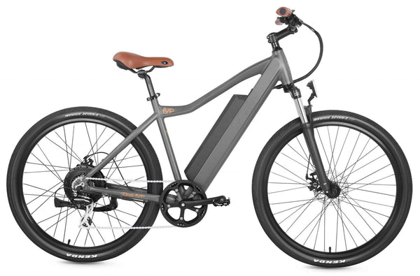 "Ride1Up Electric Bikes 27.5"" / Gold Ride1Up 500 Series MTB 48V Electric Mountain Bicycle"