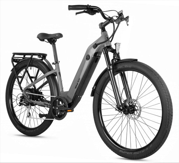 Ride1Up Electric Bikes Ride1Up 700 Series 48V Electric Cruiser City Bicycle - Step Thru