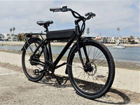 Ride1Up Electric Bikes Ride1Up Roadster Ghost 48V City Electric Bicycle 26""