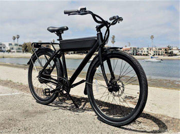 Ride1Up Roadster Ghost 48V City Electric Bicycle 26""