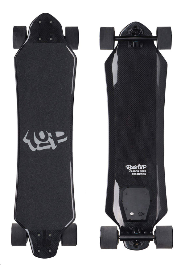 Ride1Up Electric Skateboard Carbon Fiber Pro Edition Electric Skateboard