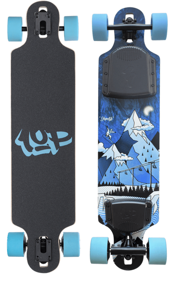 Maple Drop-Thru Slopestyle Electric Skateboard