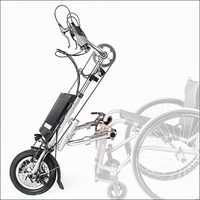 RIOMOBILITY Handcycle e-Dragonfly Electric Assist Attachable Hybrid Handcycle for Wheelchair