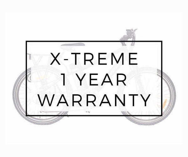 X-Treme Accessories none 1 Year Extended Warranty for X-Treme Bikes