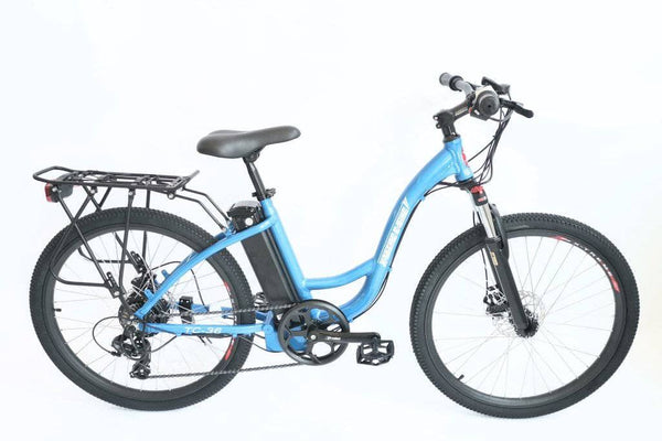 X-Treme Electric Bikes One Size / Baby Blue X-Treme TC-36 36V Step Through Mountain Commuter eBike