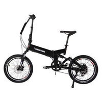 X-Treme Electric Bikes One Size / Black X-Treme E-Rider 48V Mini Folding eBike